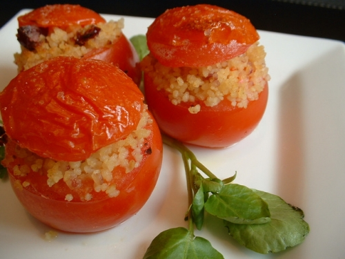 Baked Stuffed Tomatoes - Baked Tomato Starters